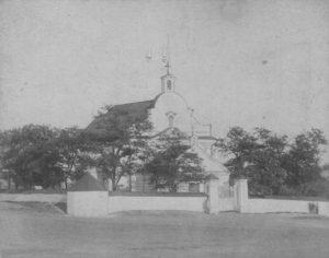 Костёл св. Станислава 1765 г. с фотографии конца XIX века