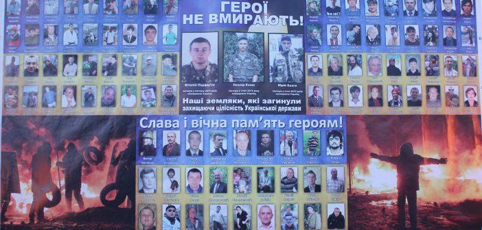 Герои не умирают! В Балте почтили память Небесной Сотни