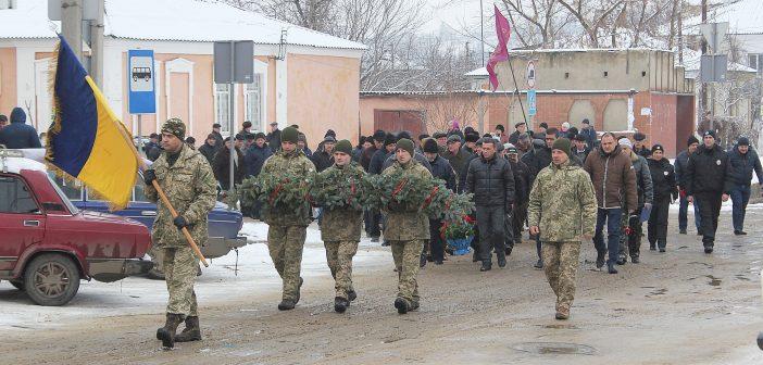 В Балте вспомнили афганскую войну и погибших земляков