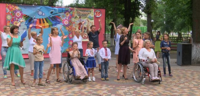 Десятый юбилейный фестиваль «Зорі надії» (видео)