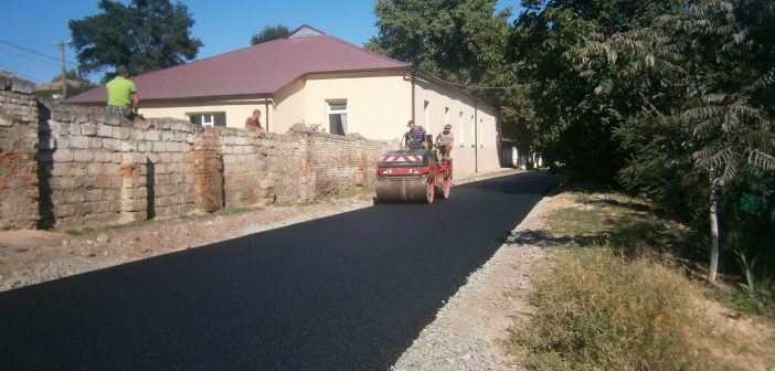 На території громади тривають дорожні роботи