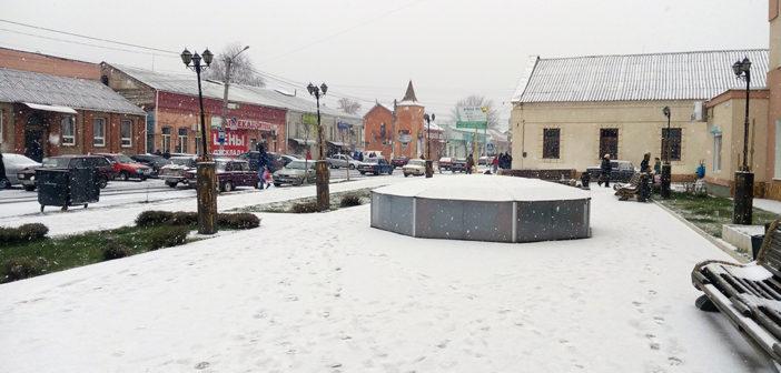 Падал первый снег…