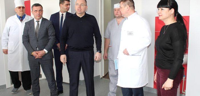 В Балтской ЦРБ открылось проемно-диагностическое отделение