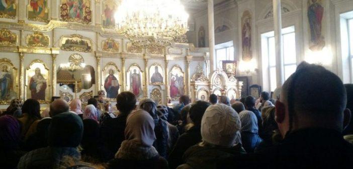 В храме Одесско-Балтской епархии Православной Церкви Украины произошел конфликт между прихожанами