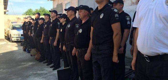 Працівників Балтського відділу поліції перевірили на злагодженість та боєготовність